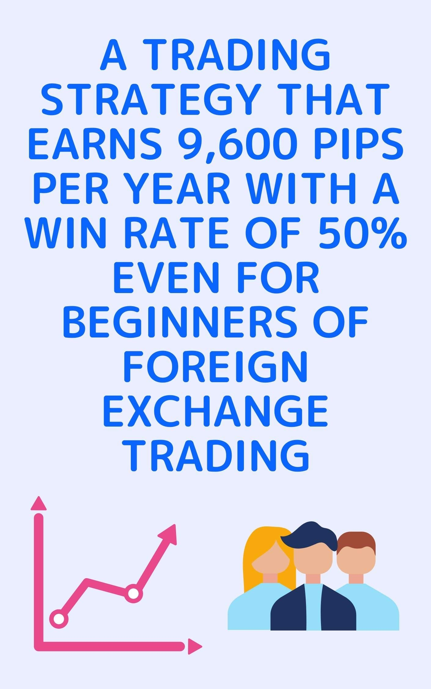 A trading strategy that earns 9,600 pips per year with a win rate of 50% even for beginners of foreign exchange trading