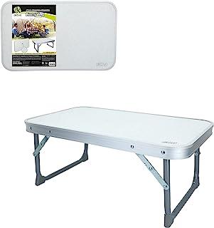 Aktive 52842 - Mesa plegable camping aluminio Camping 56 x 34 x 24 cm