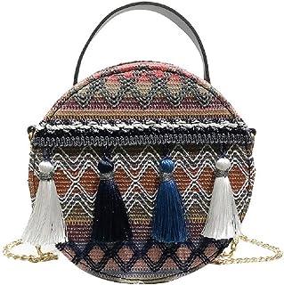 Amazon.es: bolso mimbre - Carteras y monederos / Accesorios ...