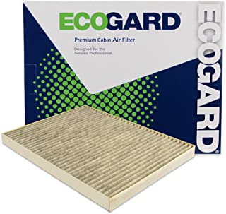 ECOGARD XC26205C Cabin Air Filter with Activated Carbon Odor Eliminator - Premium Replacement Fits Chevrolet Traverse / GMC Acadia / Buick Enclave / Saturn Outlook