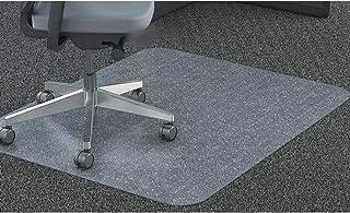 GIOVARA Claro Silla Alfombrilla para alfombras de Pelo Low-Medium Suelos, Rectangular, Material de Alta Resistencia de Impacto, Antideslizante, Non-Recycling, 75x120cm (2.5'x4')