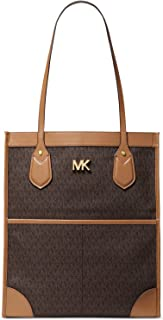 Bay Large Leather and Logo Tote