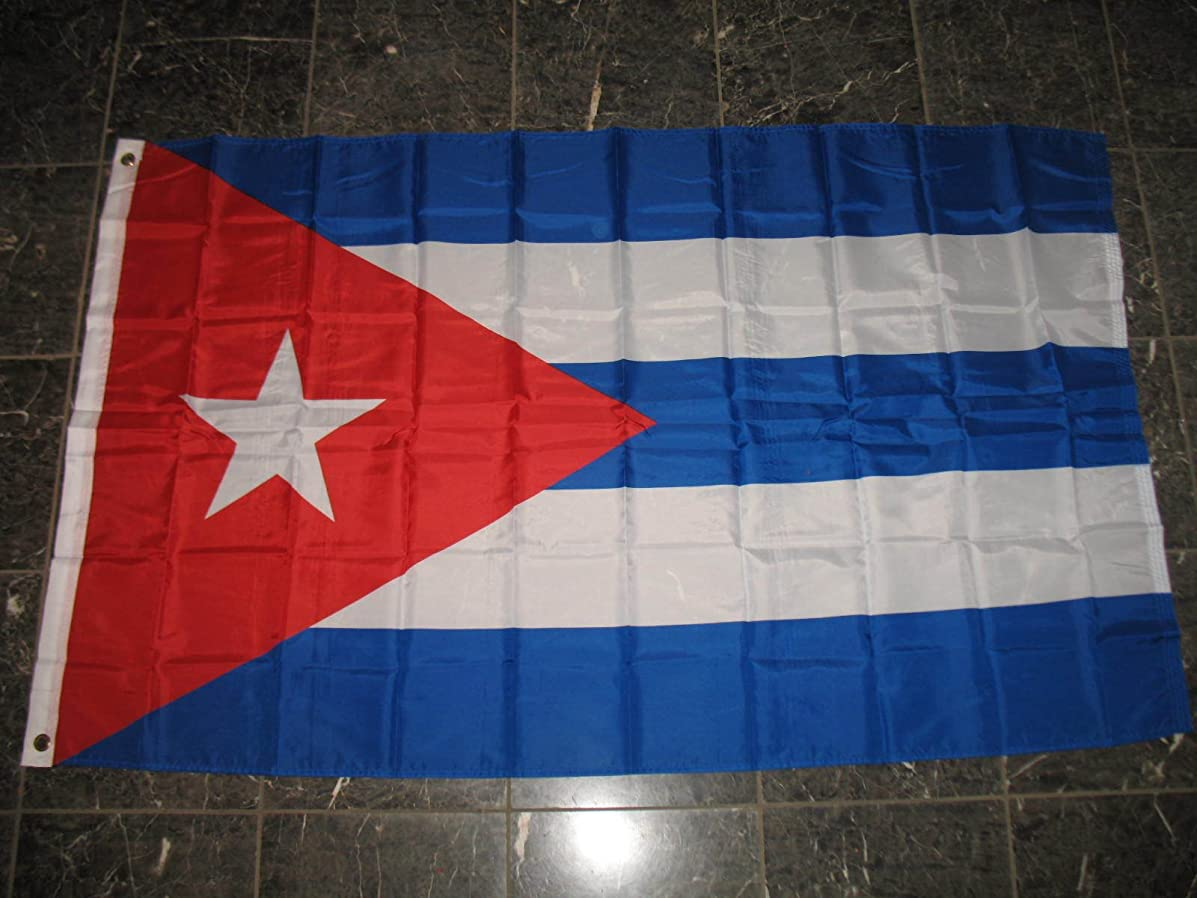 ALBATROS Lot 20 3 ft x 5 ft Cuba Cuban SuperPoly Flag Banner for Home and Parades, Official Party, All Weather Indoors Outdoors