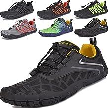 JACKSHIBO Unisex Minimalistische Trailrunning Barefoot Schoenen Heren Dames Lichtgewicht Sportschoenen voor Sportschool Fi...