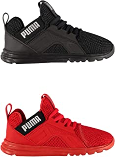 Official Brand Puma Enzo Weave Trainers Infants Boys Shoes Sneakers Kids Footwear