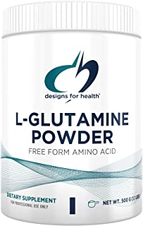 Designs for Health L Glutamine Powder - 3000mg Amino Acids Supplement to Support Muscle Recovery, Digestive, Immune + Gut ...