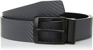 Nike Men's Carbon Fiber-Texture Reversible Belt