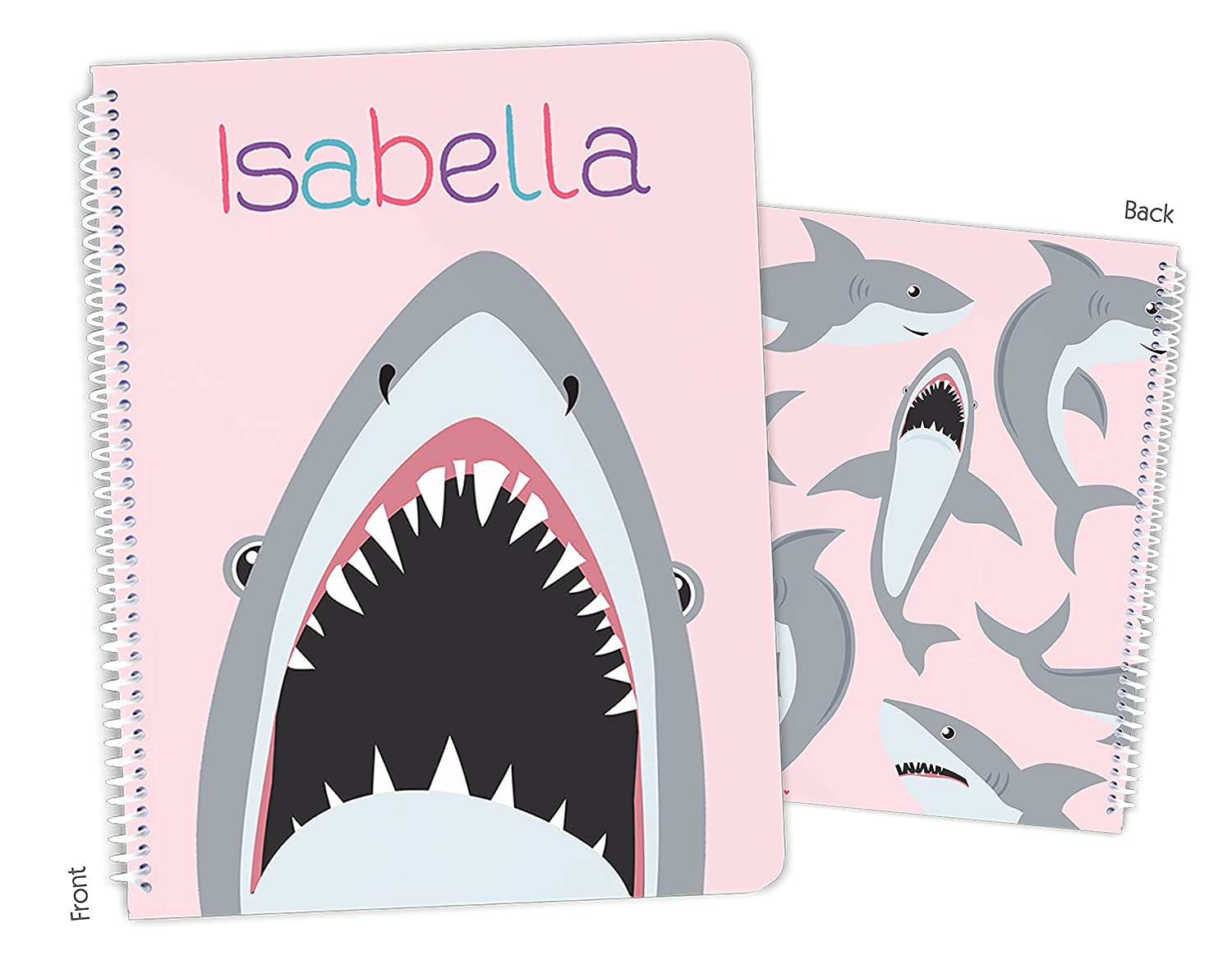 Personalized Max 71% OFF Max 77% OFF Shark Spiral Notebook Bound Sketchbook