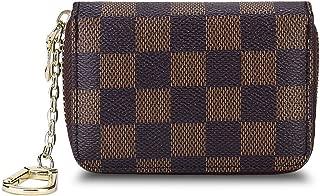 Women's Wallet Zipper RFID Blocking Credit Card Holder Case Coin Purse