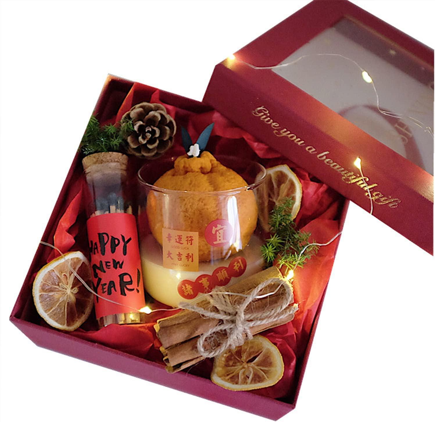 Aromatherapy Candles Good Las Vegas Long-awaited Mall Luck Aromather Kumquat Handmade Orange