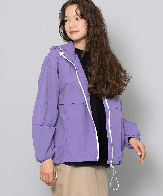 [センスオブプレイス] ジャケット コート ナイロンジップパーカー レディース