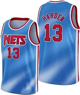 PANGOIE Men's Women's Fans Jerseys, 13# Harden Basketball Jerseys, for Basketball Training, Fitness, Running, Jogging, Out...