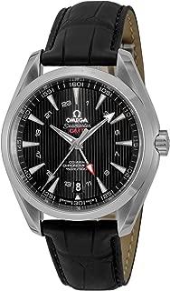 [オメガ] 腕時計 シーマスターアクアテラ ブラック文字盤 コーアクシャル自動巻 GMT機能 231.13.43.22.01.001 メンズ 並行輸入品 ブラック