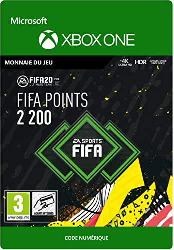 FIFA 20 Ultimate Team - 2200 FIFA Points - Xbox One - Code jeu à télécharger
