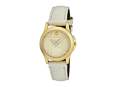 Gucci G-Timeless YA126580 (White) Watches