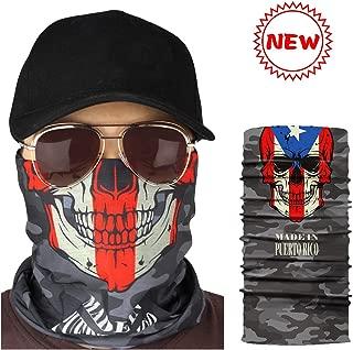 KOMIWOO Outdoor Face Mask-Seamless Tube mask -Headband Bandana, Sport Headwear Scarf, Breathable UV Protection for Fishing Motorcycle Running Hiking Hunting