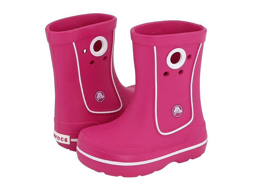 Crocs Kids Crocband Jaunt (Toddler/Little Kid) (Fuchsia) Kids Shoes