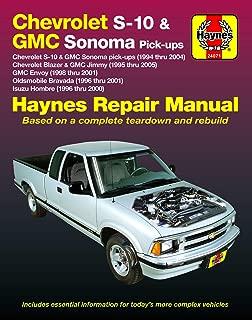 Best 2000 chevy blazer repair manual Reviews