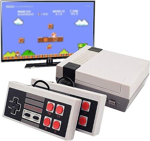 LEOP Console de Jeu Mini Classic, Console Rétro de 620 Jeux, Plug & Play Classic Portable Console Électronique Jouet ...