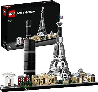 LEGO Architecture 21044 Paris Byggsats med Eiffeltornet och Louvre, Skyline Kollektion