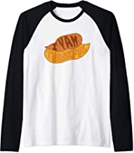 I Yam Thankful Funny Yam Potato Vegetable Thanksgiving Raglan Baseball Tee