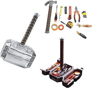 Thor Hammer Tool Set,Thor Battle Hammer tool set,Durable, Long Lasting Chrome Finish Tools with Thor Hammer case