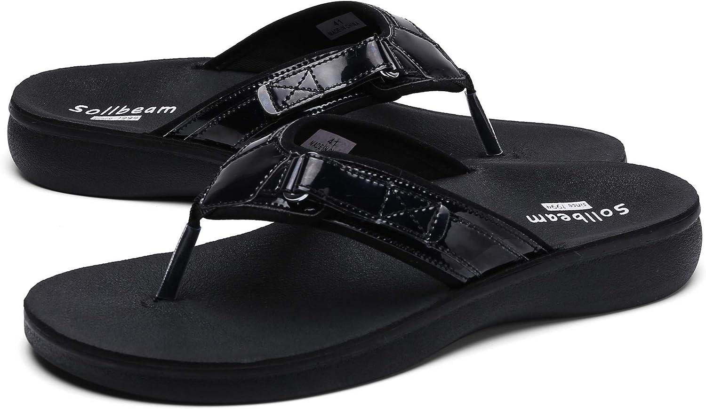 SOLLBEAM Womens Original Orthotic Comfort Charlotte Mall Flip Brand new Thong Flops Style