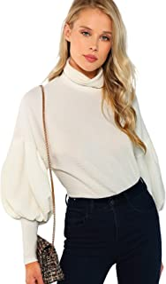 Best puffy white sweater Reviews