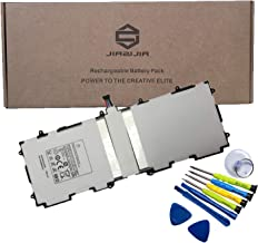 JIAZIJIA SP3676B1A(1S2P) Tablet Battery Replacement for Samsung Galaxy Tab 2 10.1 inch GT-P5100 GT-P5110 GT-P5113 GT-N8000 GT-N8010 GT-N8013 GT-P7510 GT-P7511 Series with Tools Kit 3.7V 25.9Wh 7000mAh