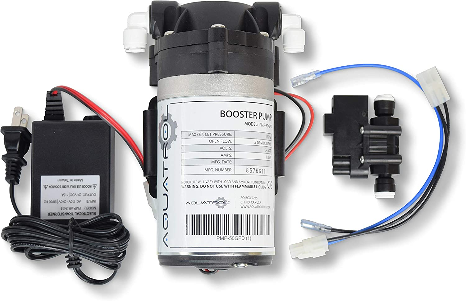 Max 88% OFF WECO Economy Booster Pump Retrofit Osmosis Kit RO for Reverse Virginia Beach Mall