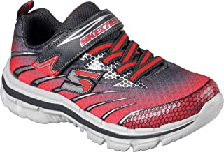 Skechers Nitrate Pulsar Boy's Charcoal/Red