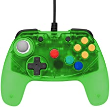 Retro Fighters Brawler64 Next Gen N64 Controller Game Pad - Nintendo 64 - Green