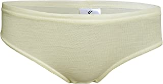 100% Merino Wool Women's Base Layer Hipster Briefs Underpants Made in EU
