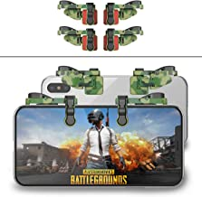 【2 Pair】 Mobile Game Controller Gamepad Compatible with PUBG Mobile/Fortnitee Mobile/Call of Duty Mobile, Compatible with iPhone/Android, IFYOO Z108 Sensitive Shoot and Aim L1R1 Triggers