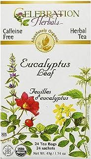 Celebration Herbals Organic Eucalyptus Leaf Tea Caffeine Free -- 48 Herbal Tea Bags