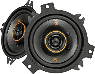 KICKER 47KSC404 KS Series Low Profile 4 Inch 4 Ohm 15 to 75 Watts RMS Power Factory Replacement Coaxial Car Audio Sound Sy... photo