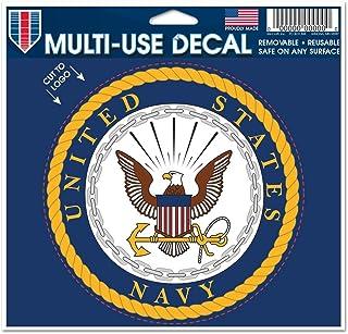 4.5 x 5.75 Black NCAA University of Wisconsin 03800115 Multi-Use Decal