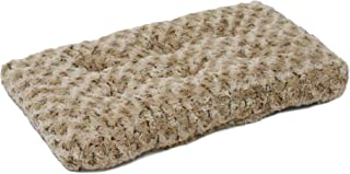 Midwest Homes for Pets Plush Pet Bed | Ombré Swirl Dog Bed & Cat Bed | Mocha 17L x 11W x 1.5H - Inches for Toy Dog Breeds,...