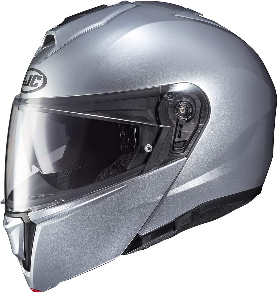 HJC i90 Modular Motorcycle 4X-Large Helmet safety Silver Max 45% OFF