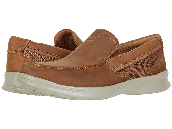 Clarks  Cotrell Easy (Tan Combi Leather) Mens Shoes
