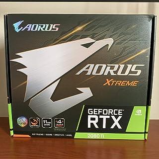 GIGABYTE NVIDIA GeForce RTX 2080Ti 搭載 グラフィックボード 11GB AOURUSシリーズ 簡易水冷モデル GV-N208TAORUS X W-11GC