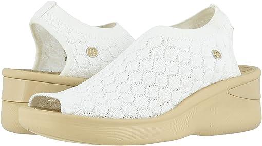 White Crochet Knit