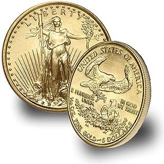 1986 - Present 1/10oz American Gold Eagle (Random Year) $5 Brilliant Uncirculated