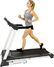 Sunny Health & Fitness SF-T7515 Smart Treadmill with Auto Incline, Speakers, Bluetooth, LCD and Pulse Monitor, Phone Funct...