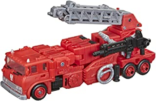 Transformers Toys Generations War for Cybertron: Kingdom Voyager WFC-K19 Inferno Action Figure - Kids Ages 8 and Up, 7-inch