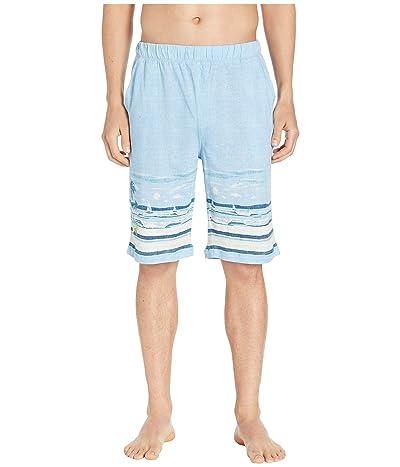 Tommy Bahama Cotton Modal Ocean Breeze Shorts (Ocean Breeze) Men