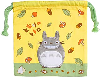 "My Neighbor Totoro""Smiling"" Kinchaku Drawstring Pouch S size 1025000200"