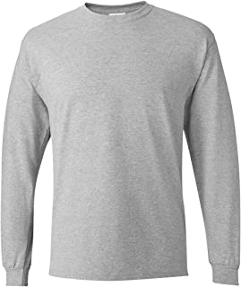 Hanes Mens 5.2 oz. ComfortSoft Cotton Long-Sleeve T-Shirt (5286)