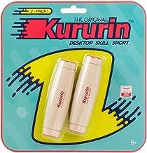 Kururin - The Original Desktop Fidget Toy - 2 Pack - Red