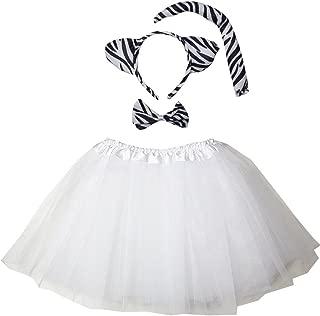 zig zag zebra costume